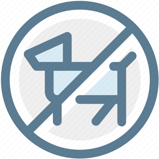 dogs, navigation, no, no dogs, prohibited, sign, warning icon