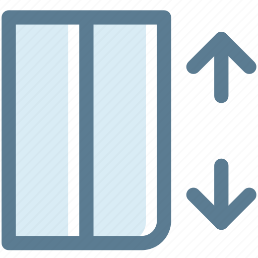 elevator, floors, lift, load, machine, navigation, sign icon