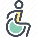 disability, disabled, handicap, navigation, sign, toilet icon