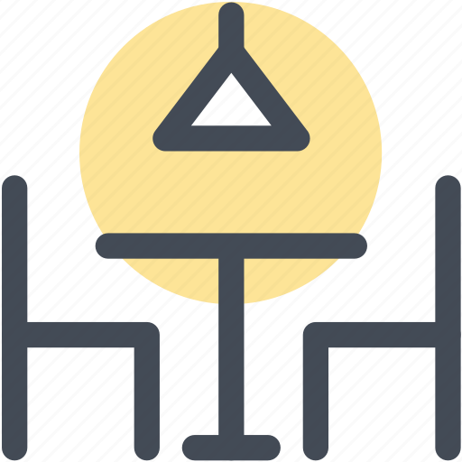 dining, dining table, hotel, navigation, restaurant, sign, table icon