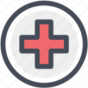 first, first aid, healthcare, hospital, medical, navigation, sign icon