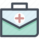first aid, first aid bag, first aid box, first aid kit, medical aid, navigation icon