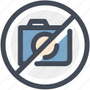 digital camera, museum, navigation, no camera, no photography, no pictures, sign icon