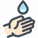 clean, hand, hand washing, navigation, sign, washing, water icon