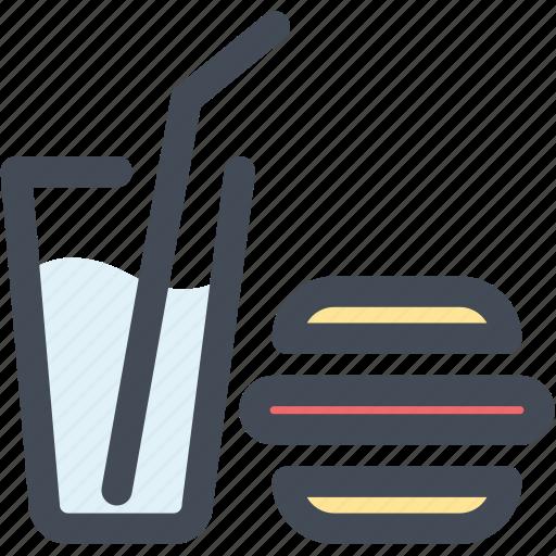 food and drink, hamburger, junk food, lunch, navigation, restaurant, sign icon