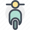 bike, motor, motorbike, motorcycle, navigation, parking, sign icon