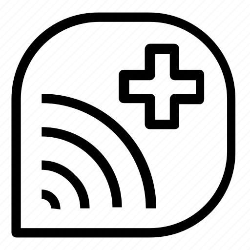 add, internet, network icon