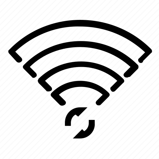 refresh, reload, wifi icon