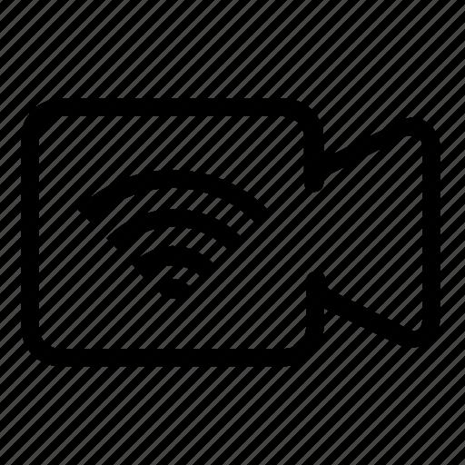 call, internet, video icon