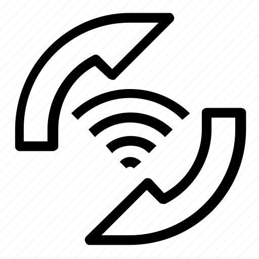 internet, refresh, reload, wifi icon