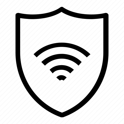 protection, security, wifi icon