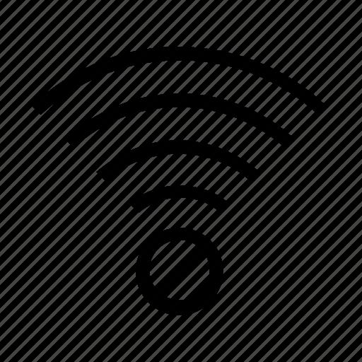 block, connection, internet, wifi icon