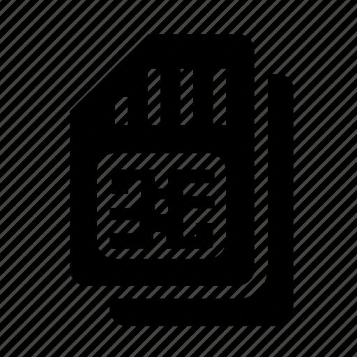 mobile, simcard icon