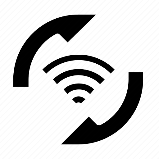 connection, refresh, sync, wifi icon