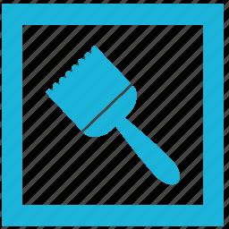 brush, building, interior, paint, repair, wall icon