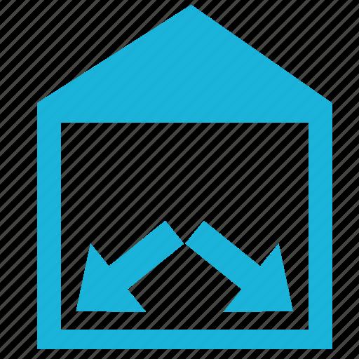 building, construction, corners, floor, house, walls icon