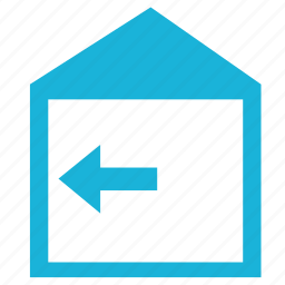 bend, building, house, pressure, wall icon