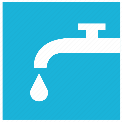 drop, sign, supply, tap, water icon
