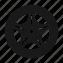 shadow, disk, automobile, wheel, tire, auto, silhouette, car