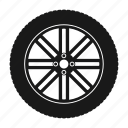 shadow, disk, automobile, service, wheel, tire, silhouette, car