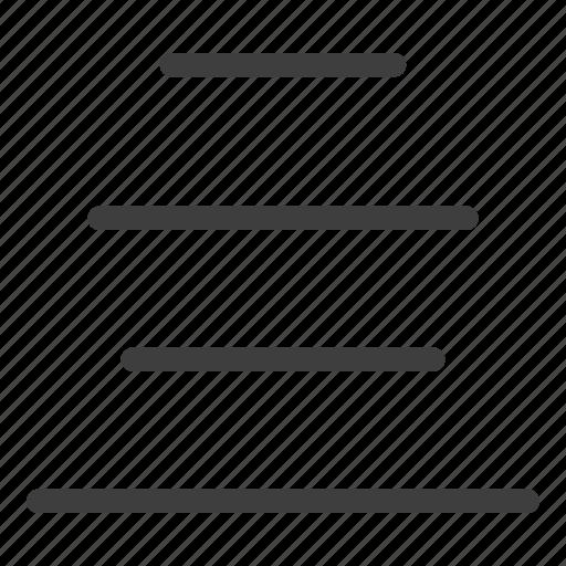 align, center, to icon
