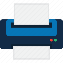 device, fax, laser, print, printer, printing icon