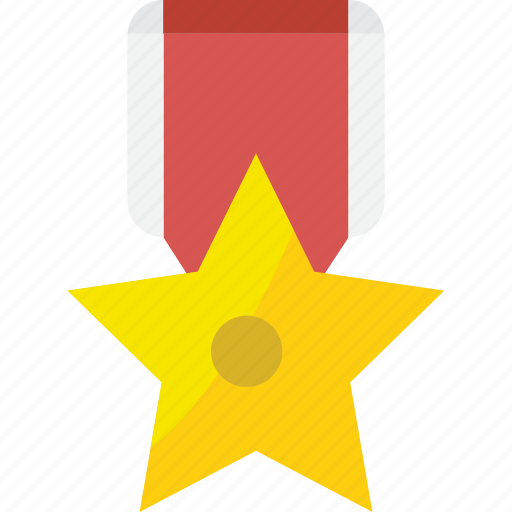 achievement, approved, award, best, excellent, medal, prize, reward, star, success, trophy, winner icon