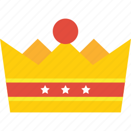 achievement, award, best, crown, gold, king, kingdom, prince, princess, success, trophy, win, winner icon
