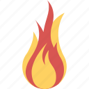 alarm, alert, attention, camping, danger, fire, risk, stop, warning icon