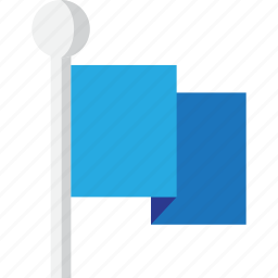 achievement, blue, direction, facorite, favorite, first, flag, flags, gamification, here, location, marker, market, navigation, pin, prize, win, winner icon
