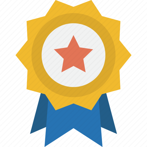 achievement, approved, award, badge, best, certified, favorite, first, gold, insignia, medal, prize, reward, success, trophy, win, winner icon