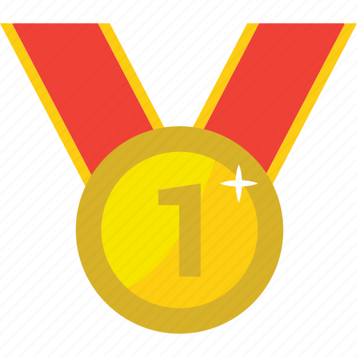 achievement, award, awards, badge, best, first, gold, medal, one, reward, trophy, win, winner, winners icon