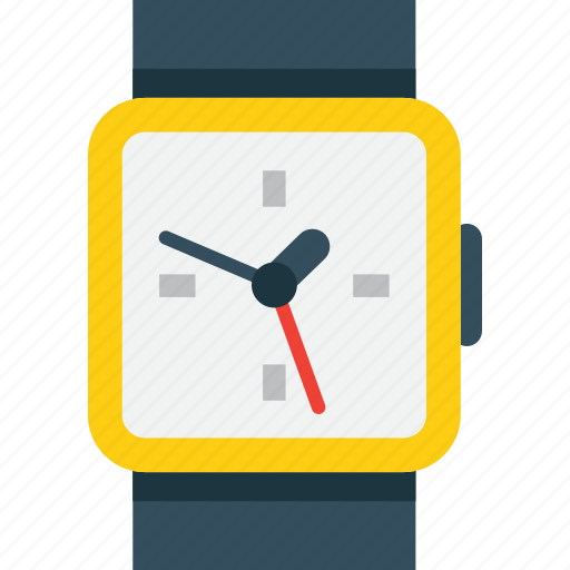 alarm, alert, business, clock, date, day, month, plan, stopwatch, time, timer, wait, watch, wearable icon