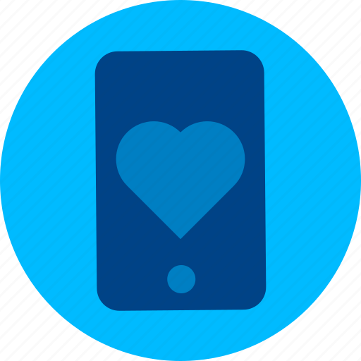app, heart, like, love, mobile, phone, smartphone icon