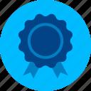 achievement, award, badge, medal, prize, reward, success icon