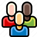 group, members, people, team, users icon