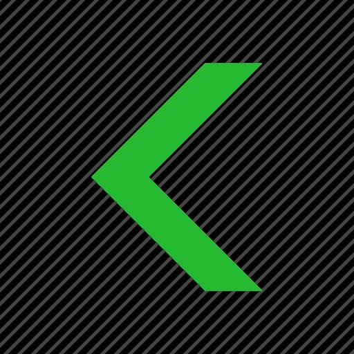 arrow left, east, navigate, previous icon
