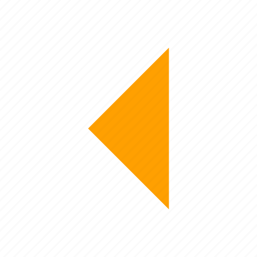arrow left, east, navigate, previous icon