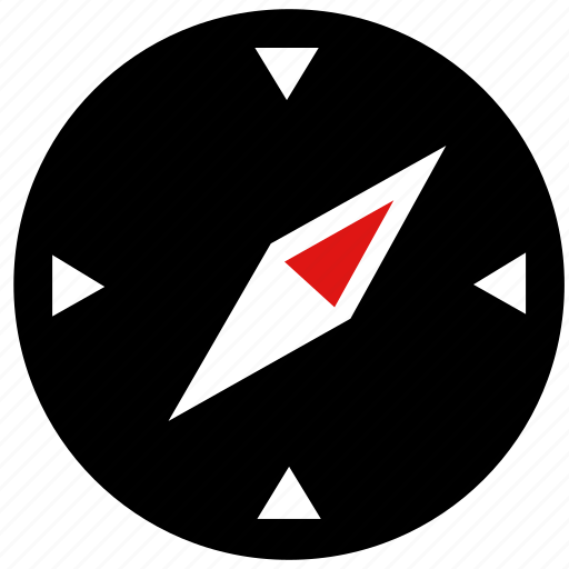 Compass, direction, map, pointer icon - Download on Iconfinder