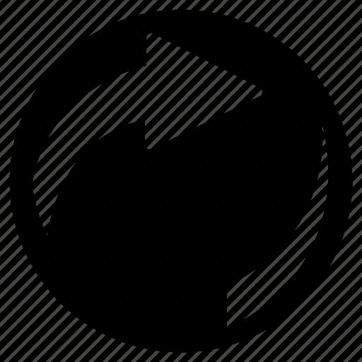 arrow, circulation, refresh, renew, restart icon