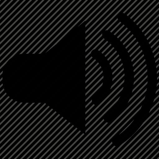increase, max, sound, speaker, up, volume icon