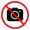 allowed, ban, camera, no, photos, pictures icon