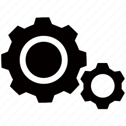 cogs, configuration, configure, machine, mechanic, options, settings icon