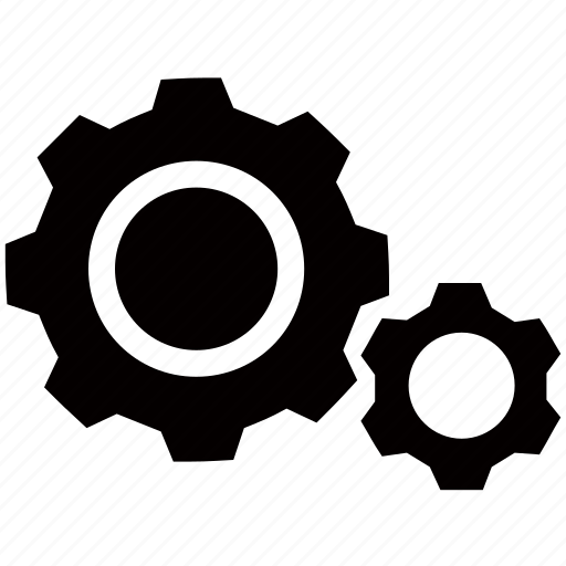 cogs, configuration, configure, machine, mechanic, options, settings icon