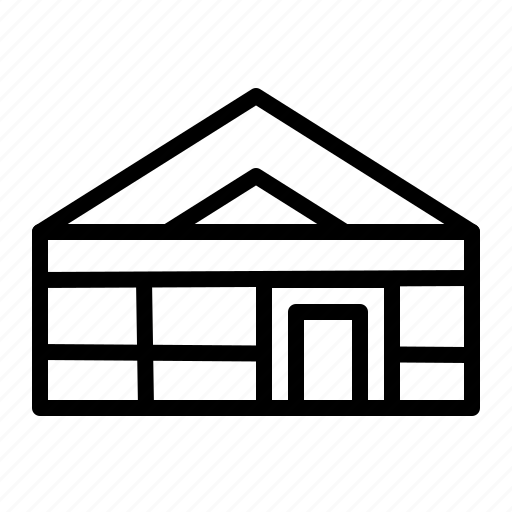 building, house, market, mart icon