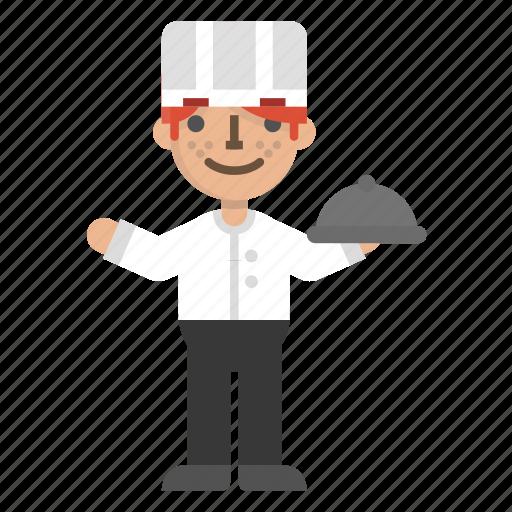 Character, chef, cook, dinner, kitchen, restaurant icon - Download on Iconfinder