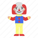 avatar, carnival, character, circus, clown, joker icon
