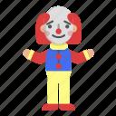 avatar, carnival, character, circus, clown, joker