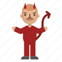 avatar, character, devil, emoji, evil, halloween, horror icon