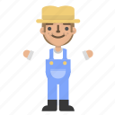 agriculture, character, farm, farmer, farming, garden, nature icon